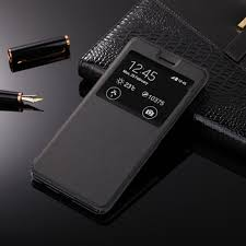 xiaomi redmi note 5 flip leather case black 17761