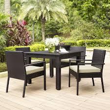 Amazoncom  Crosley Furniture Palm Harbor 4Piece Outdoor Wicker Palm Harbor Outdoor Furniture