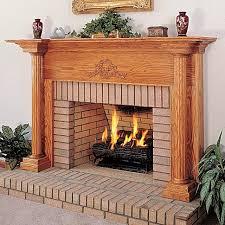 10 astonishing wood fireplace surround kit picture ideas