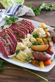 Cooking Light Corned Beef Cabbage Crock Pot Corned Beef And Cabbage