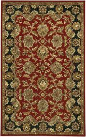 chandra bliss bli1004 rug red black brown gold green traditional area rugs by arearugs
