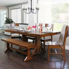 furniture kitchen dining room sets imagegalleryspinner the gray barn pitchfork 6 piece antique brown dining set with bench