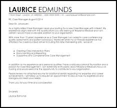 managment cover letter case manager cover letter sample cover letter templates examples