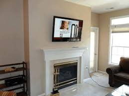 living room with tv over fireplace. Living Room Fireplace Tv Wall Units Outstanding Unit With Over O