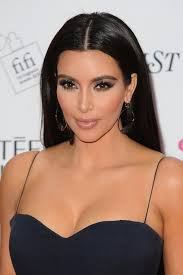 kim kardashian at fifi awards makeup and hair by rob scheppy