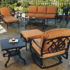 florence deep seating cast aluminum patio furnituredining