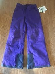 Arctix Snow Pants Youth Size Chart New Girls Size Youth Small Arctix Snow Ski Pants Purple Nwt Ebay
