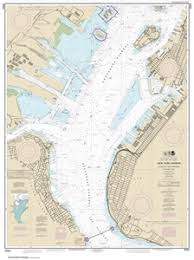 New York Harbor Nautical Chart 12334 New York Harbor Upper Bay And Narrows Anchorage Chart Nautical Chart