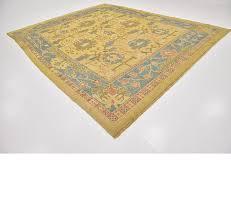 10 9 x 13 7 oushak rug