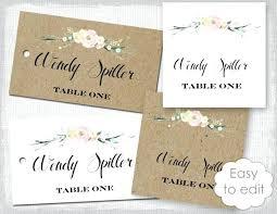 Wedding Escort Cards Template Mediaschool Info