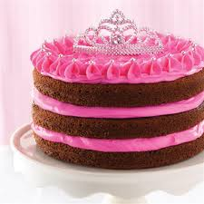 Hot Pink Princess Cake