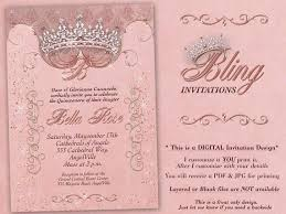 Invitations Quinceanera Birthday Party Invitations Quinceanera Invitation Party Invitations Sweet 16 Party