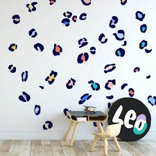 leopard print wall decals removable