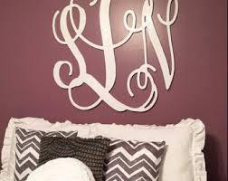 monogram wall decor cool wood monogram wall decor