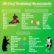 Dog Training Hand Signals Chart Pdf Dog Training Commands Guide Basic To Advanced