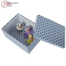 Cardboard Storage Box Decorative Hot Sale Decorative Kids Folding Cardboard Storage Box with Lid 92