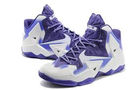lebron purple shoes. nike lebron 11 white court purple basketball shoes
