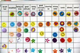 Downloadable Reward Charts Toddler Reward Downloadable Kids Sticker Chart Behavior Charts For