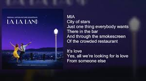 City Of Lights Song Lyrics La La Land City Of Stars Duet Lyrics
