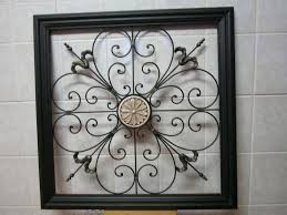 beautiful wrought iron wall decor