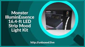 Monster Illuminessence Small Space Led Mood Light Kit Monster Illuminessence 16 4 Ft Led Strip Mood Light Kit