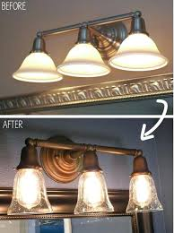 yes you can paint light fixtures the blog replacement globes for bathroom lights