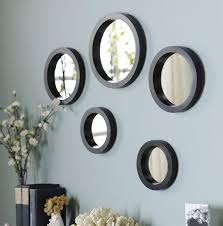 circle mirror set of 5 on mirror wall art 5 piece set with 11 best mirrors images on pinterest mirrors wall mirrors and