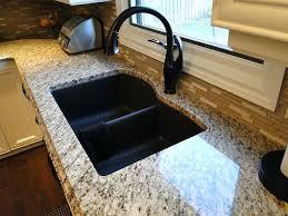 sinks home depot best kitchen sink brands in undermount granite countertop