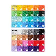 Artkal Beads C 2 6mm 48 Color Box Set Diy Jewelry Fashion Kits Perler Hama Beads Toys Cc48