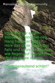Wasserfall Spruch Thurfälle Toggenburger Land Schweiz Outdoor Community
