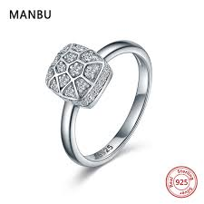 2019 <b>MANBU</b> 2019 New Arrival <b>925</b> Sterling Silver <b>Rings</b> For ...