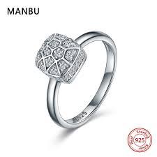 2019 <b>MANBU</b> 2019 New Arrival <b>925</b> Sterling Silver <b>Rings</b> For ...