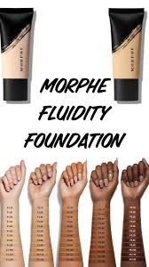 Morphe Foundation Chart Morphe Fluidity Foundation And Concealer Concealer Morphe