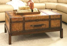 Steamer Trunk Furniture Coffee Table Reserved For Mommy2sam4ever Leather Steamer Trunk