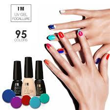 focallure fashion nail polish gel long lasting 30 days 95 pure colors sock off led uv gel nail polish salon gel varnish im005 in nail gel from beauty