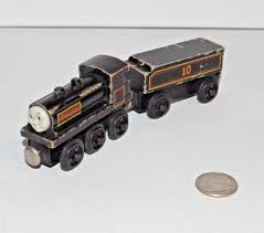 thomas friends wooden railway train tank engine douglas flat magnets undated