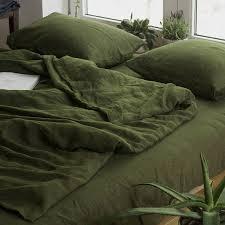green linen duvet cover custom size duvet cover green linen bedding softened quilt cover linen doona cover green duvet cover
