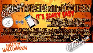 Halloween Business Cards Royaltie Gem Business Info Card Halloween 2 Gtshop