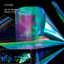 Holographic Rainbow Alibaba Yc461 Decoration About In Light Cut Pieces Nail Group Laser Shiny On Aliexpress Questions com 1 Art Foils Feedback Purple Detail Roll Paper Green Sticker