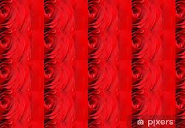 Fondo Rojo Difuminado De Una Rosa Wallpaper Vinyl Custom Made