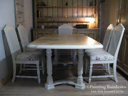 French Farmhouse Dining Table Shabby Chic Table Chairs French Country Cottagefarmhouse