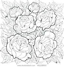 coloring pictures of flowers flower pages for kids free printable