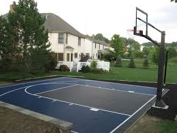 excellent decoration sport court cost easy 1000 ideas about backyard sports on