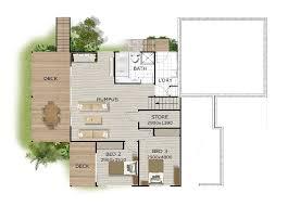 hillside house plans front slope fl on exterior modern house plans