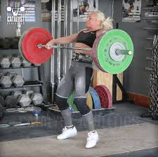 Prilepins Table For Olympic Weightlifting By Greg Everett