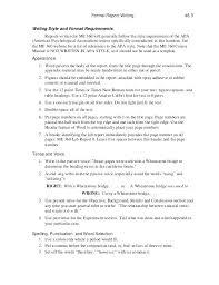 Sample Formal Report Formal Report Template Short Business Report Template Formal