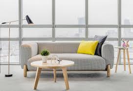 modern office sofa. Modern Office Sofa With Wood Legs