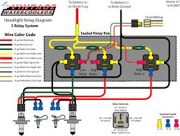 headlight relays timbo's vw technotes Bosch Fog Light Relay Wiring Diagram 3 relays, h3 bulbs Why Use Fog Light Relay