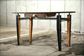 industrial style office furniture. Industrial Office Desk Home Living Rough Wood Rustic Style Furniture M