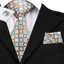 Buy brown plaid tie and get free shipping on AliExpress.com
